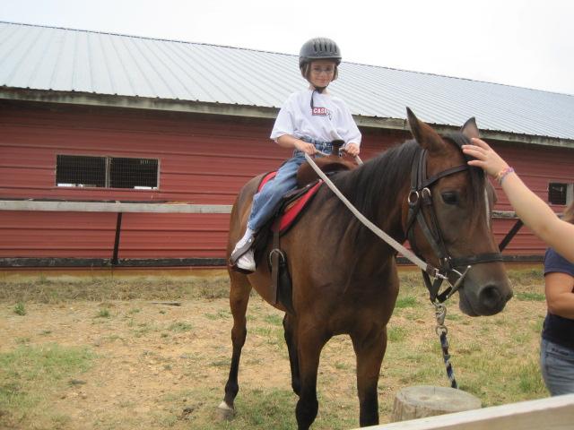 AG on horse mc
