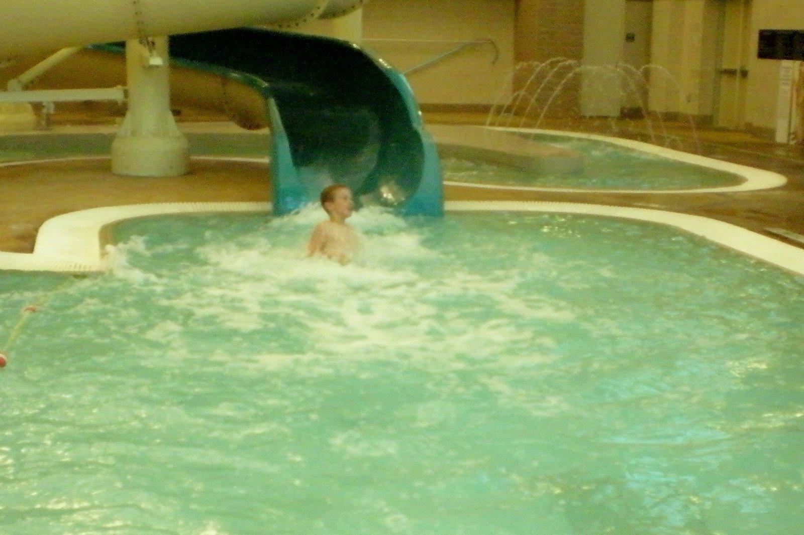 Davis pool slide