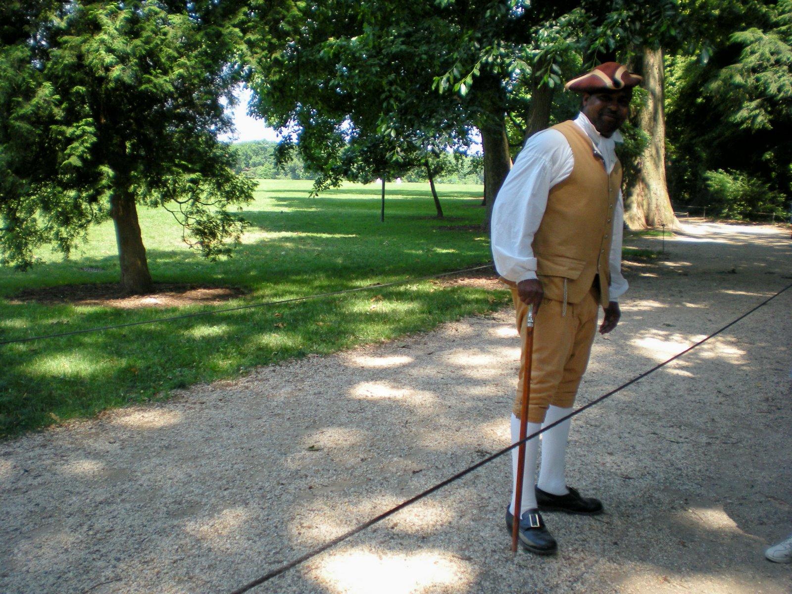 Mount Vernon gentleman